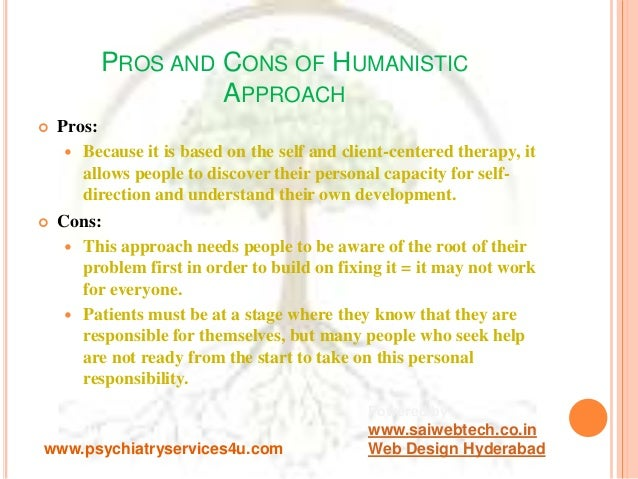Pros and cons of humanism
