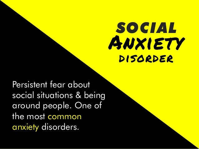 Anxiety   GENERAL   A long-term condition that causes you to feel anxious about a wide range of situations and issues,...