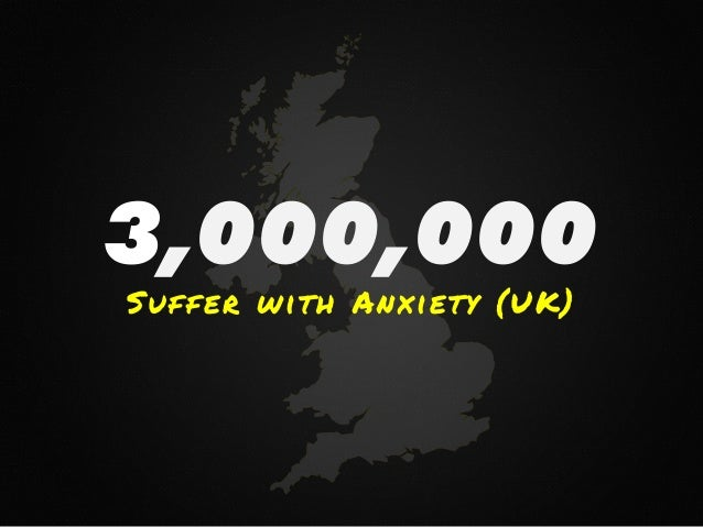 3,000,000 Suffer with Anxiety (UK)