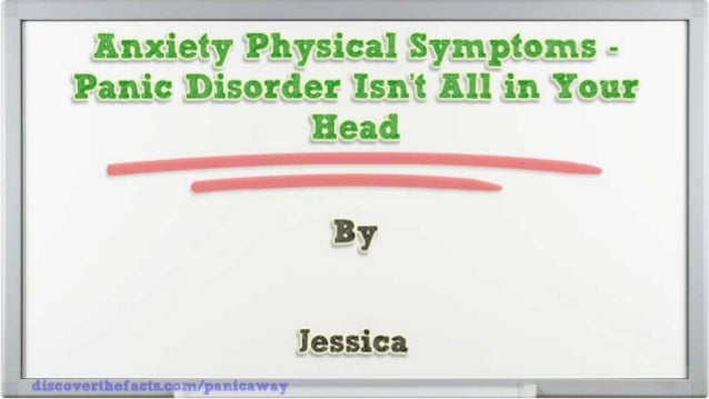 Anxiety Physical Symptoms