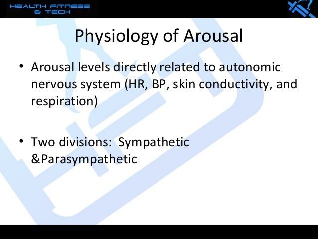 arousal levels in sport