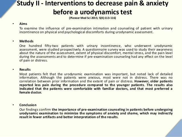 How to reduce examination anxiety
