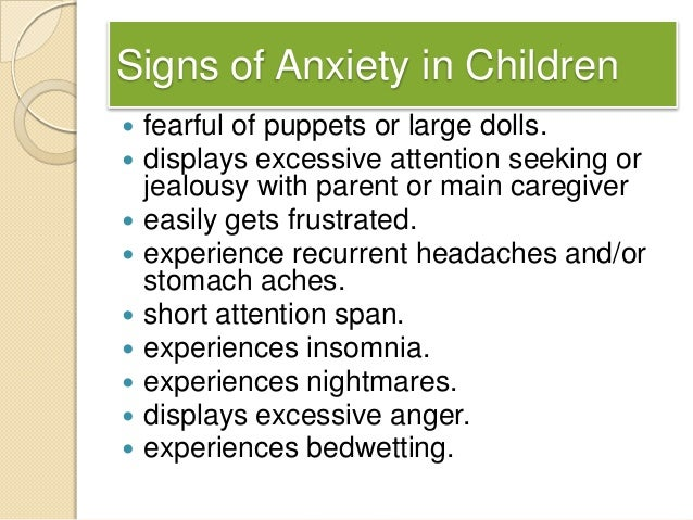 anxiety in preschoolers symptoms anxiety disorder 888