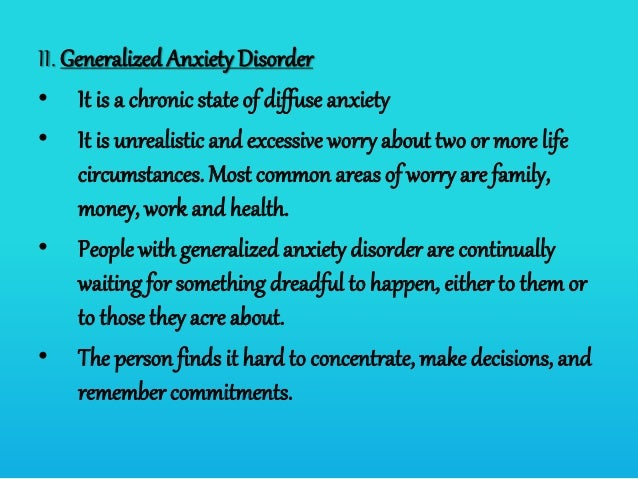 Anxiety disorder (abnormal psychology)