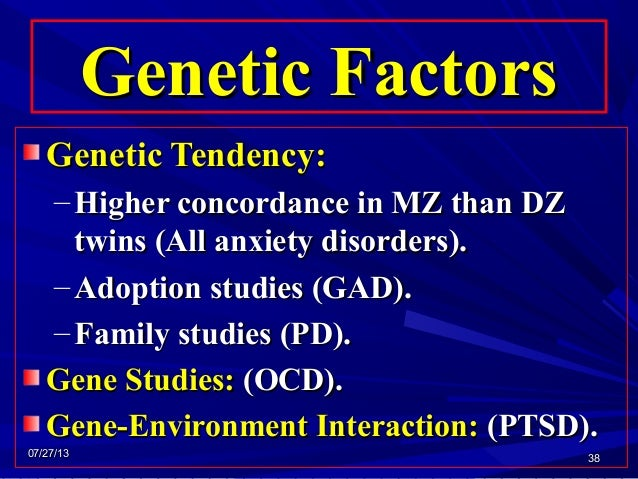 causes of ocd genetics or environment Ultimate causation refers to the supposed function of an adaptation or organ within the ancestral environment while proximate causes refer to all the possible physical factors that directly produce the given trait (eg biochemical, genetic etc).
