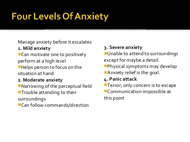 Anxiety Disorders for NCMHCE Study