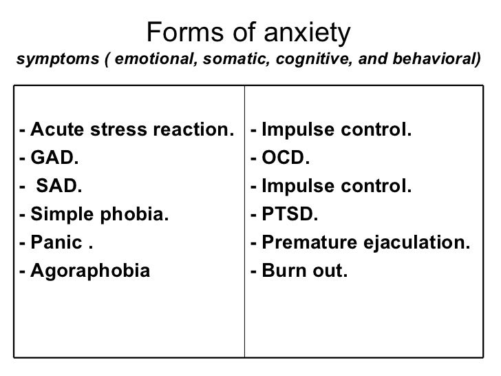 Anxiety Disorders Back to Basics - ppt video online download