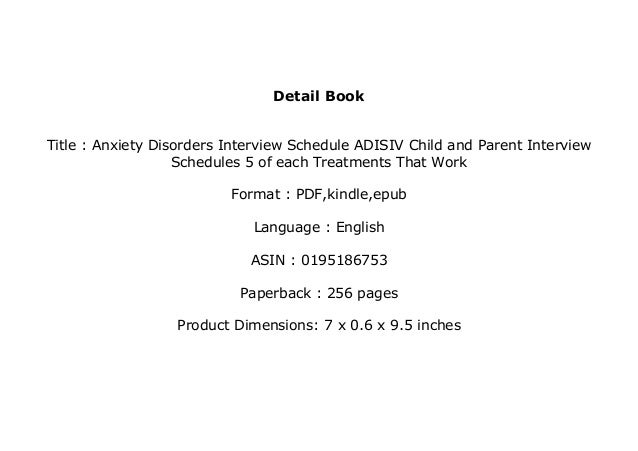 download_p.d.f library$@@ Anxiety Disorders Interview ...