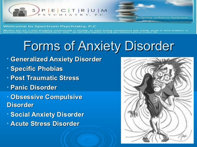 Anxiety disorder treatment Slide 3