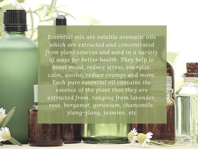 Top 12 Essential Oils For Stress Anxiety