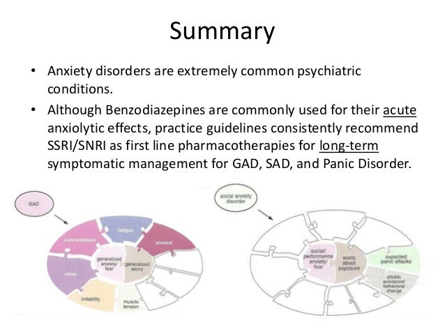 overview of anxiety disorders Learn more about generalized anxiety disorder (gad) symptoms, diagnosis,  and treatments from experts at boston children's, ranked best children's hospital .