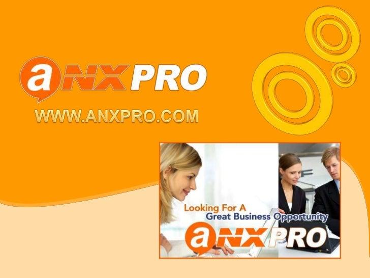 WWW.ANXPRO.COM<br />