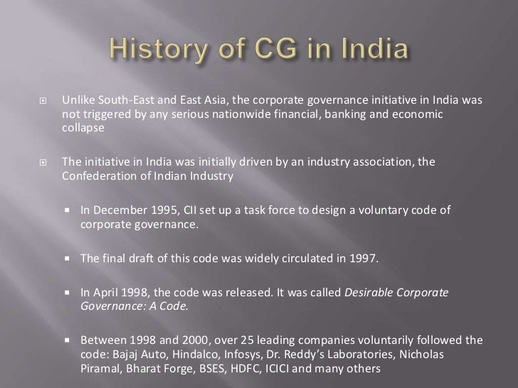 Role of corporate governance in indian banking sector.