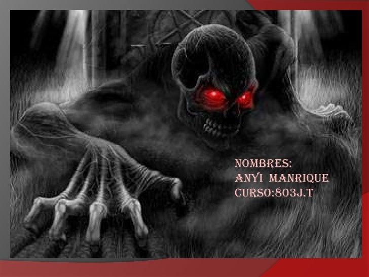 Nombres:Anyi ManriqueCurso:803j.t