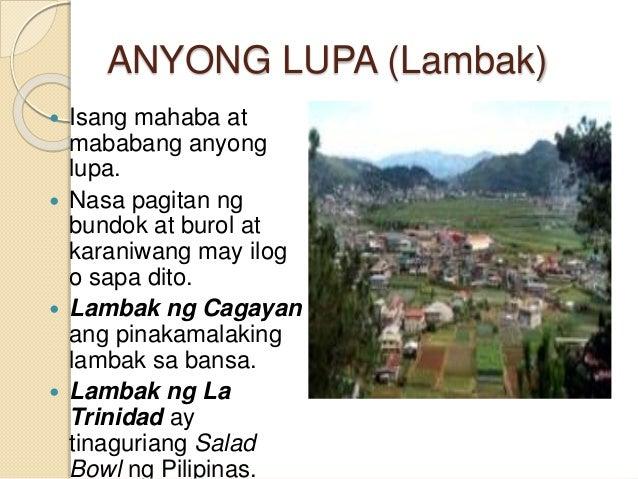 kahulugan ng yamang gubat Ang bansang pilipinas ay nagtataglay ng likas na yaman, isa na dito ang mga anyong tubig ngunit anu-ano nga ba ang mga anyong tubig.
