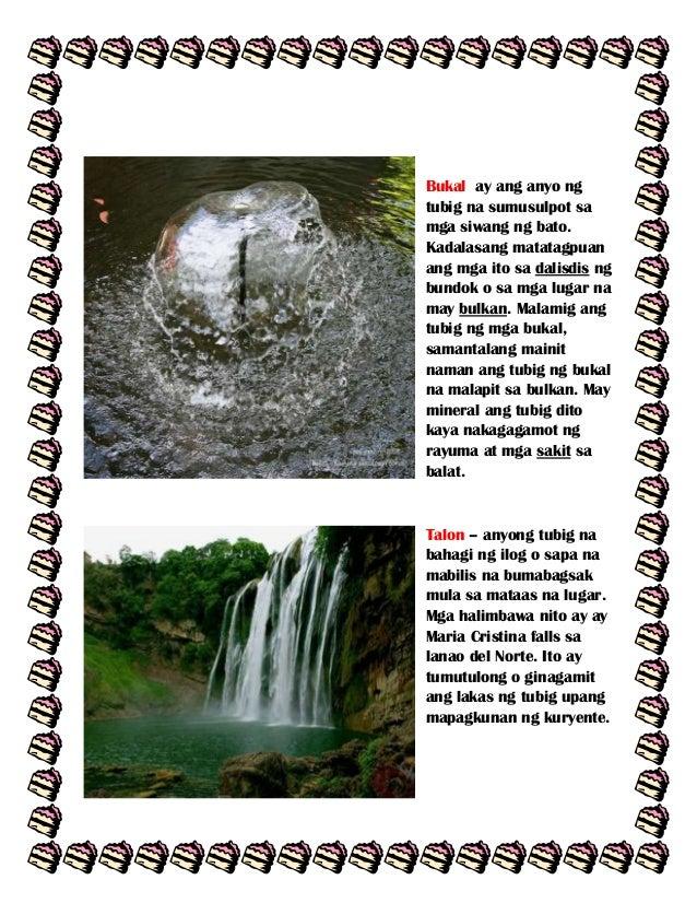 Bukal ay ang anyo ng tubig na sumusulpot sa mga siwang ng bato. Kadalasang matatagpuan ang mga ito sa dalisdis ng bundok o...