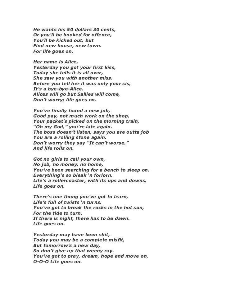 Lyric day n night lyrics : Anything for-you-maam