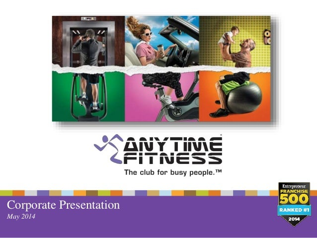 Partner With The World Leader Anytime Fitness Franchise