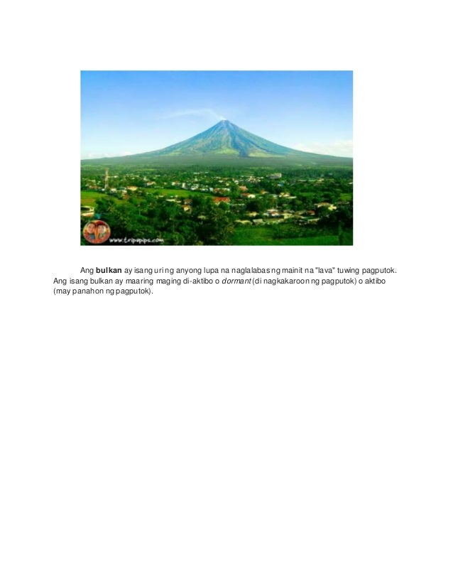 Mga Anyong Lupa at Kahulugan Slide 3
