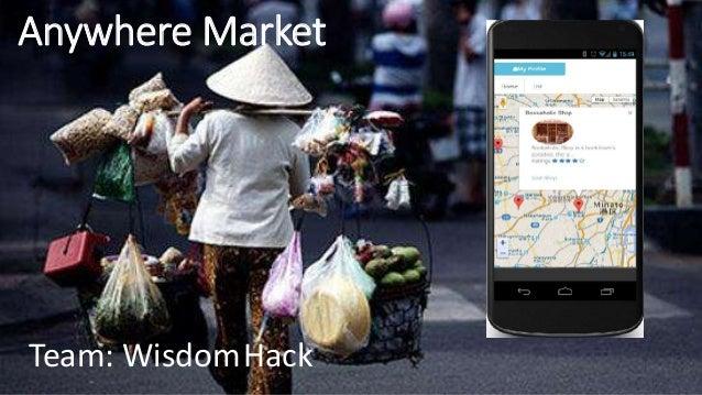 Anywhere Market Team: WisdomHack