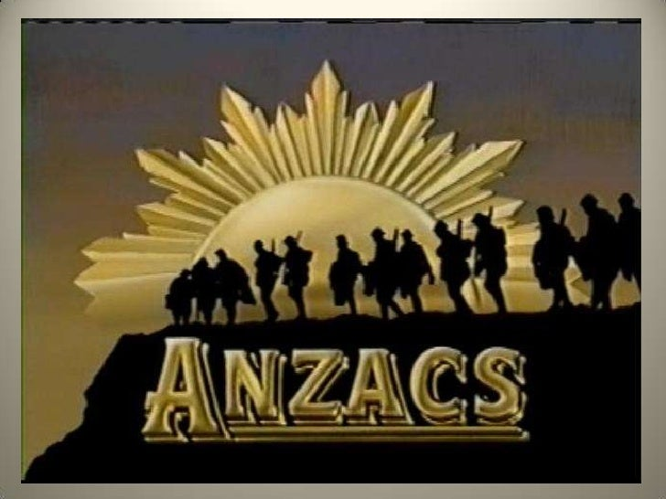 Australian and New Zealand Army               Corps• The ANZAC term was created in December  1914 when Australian and New ...