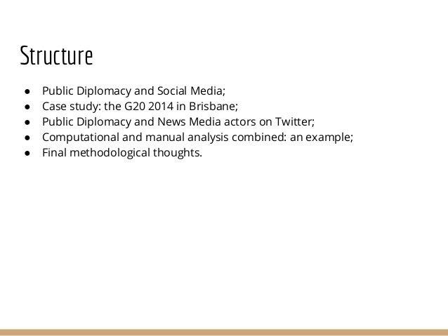 Cross-platform communication and context: assessing social media engagement in Public Diplomacy Slide 2