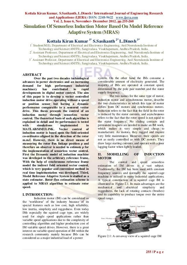 Kottala Kiran Kumar, S.Sasikanth, L.Dinesh / International Journal of Engineering Research                and Applications...