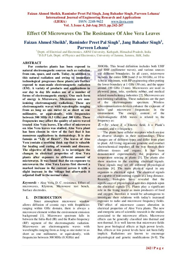 Faizan Ahmed Sheikh, Raminder Preet Pal Singh, Jang Bahadur Singh, Parveen Lehana/ International Journal of Engineering Re...