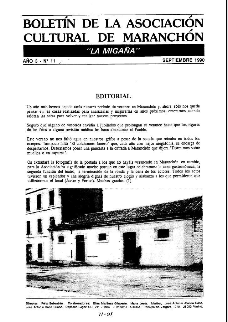CULTURAL DE MARANCHON                                                                                         SEPTIEMBRE 1...