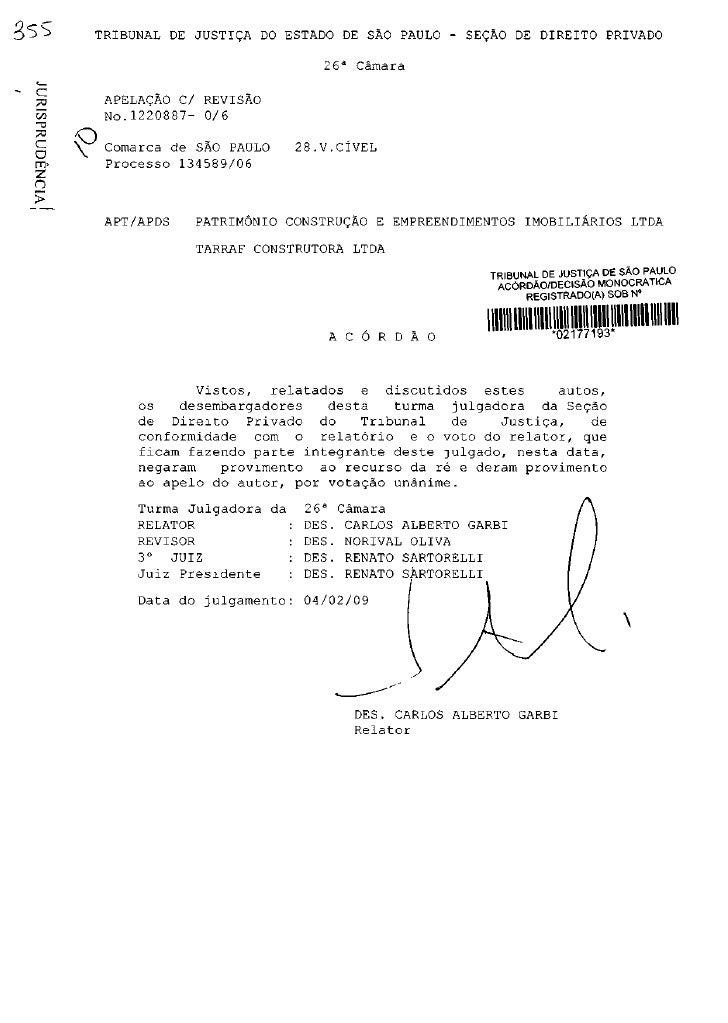 3ss      TRIBUNAL DE JUSTIÇA DO ESTADO DE SÃO PAULO - SEÇÃO DE DIREITO PRIVADO                                        2 6a...