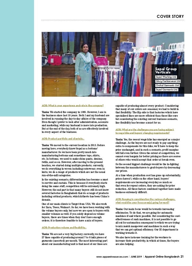 Sepal Garments Ltd