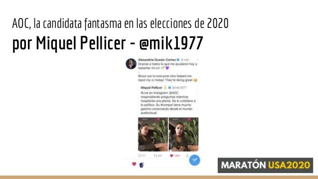Alexandria Ocasio-Cortez, la candidata fantasma en 2020