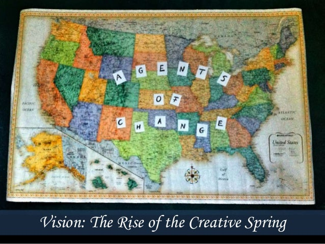 Vision: The Rise of the Creative Spring