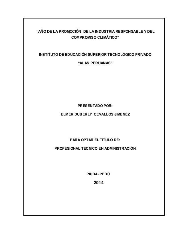 MODELO DE INFORME DE PRACTICAS FINALES DE INSTITUTOS SUPERIORES