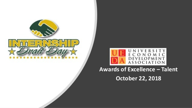 Awards of Excellence – Talent October 22, 2018