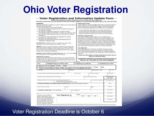 Nonprofit Voter Registration And Engagement In Ohio