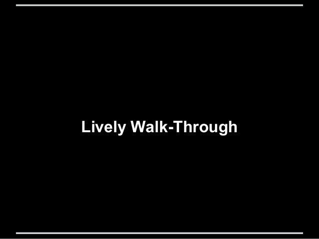 Lively Walk-Through: A Lightweight Formal Method in UI/UX design Slide 2