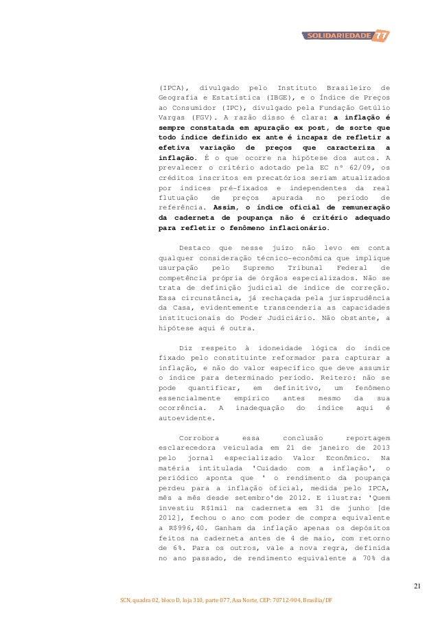 (IPCA), divulgado pelo Instituto Brasileiro de Geografia e Estatística (IBGE), e o Índice de Preços ao Consumidor (IPC), d...