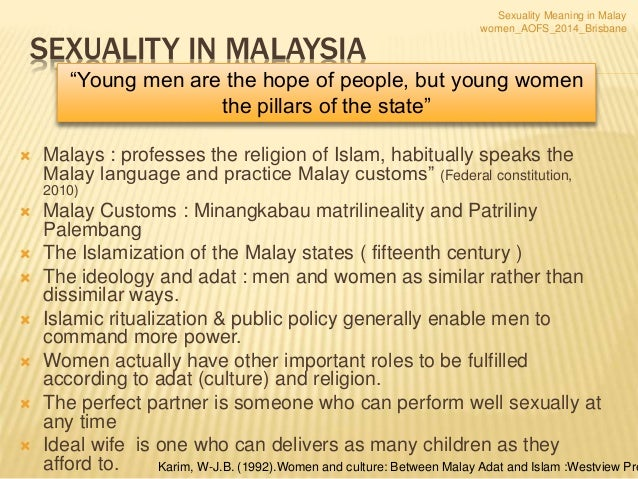 Aofs 2014 Brisbane Sexuality Meaning Among Malay Women Rosediani