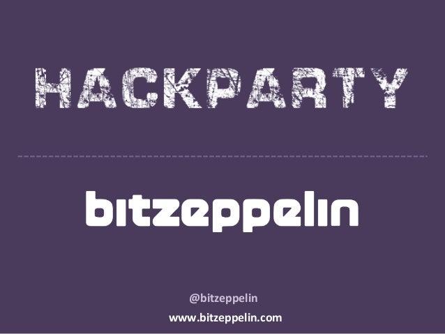 @bitzeppelin www.bitzeppelin.com