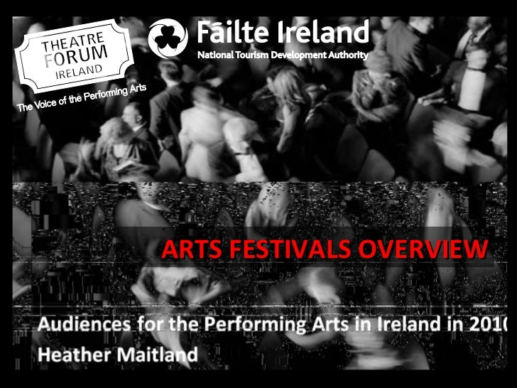 ARTS FESTIVALS OVERVIEW
