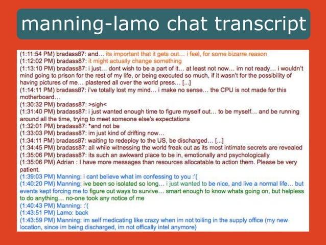 manning-lamo chat transcript