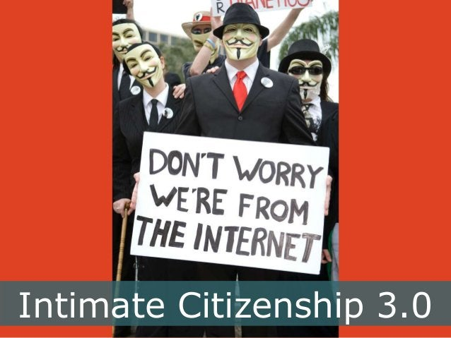Intimate Citizenship 3.0