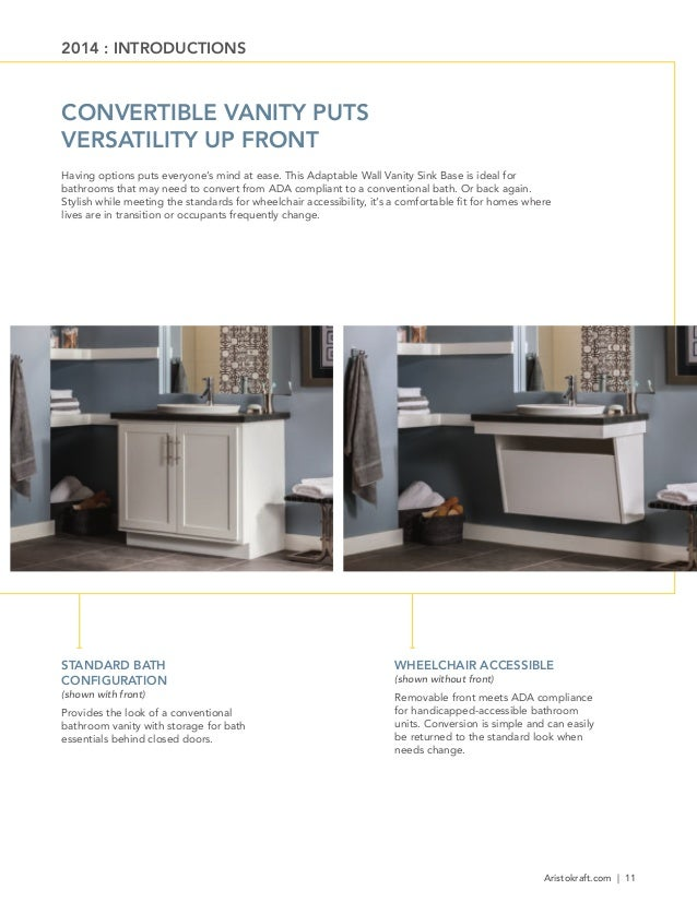 Aristokraft Cabinetry February 2014 New Products