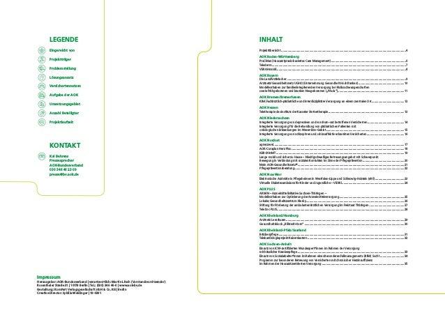 """""""Stadt. Land. Gesund."""" - Übersicht der AOK-Projekte und -Initiativen zur Gesundheitsversorgung in ländlichen Regionen Slide 2"""