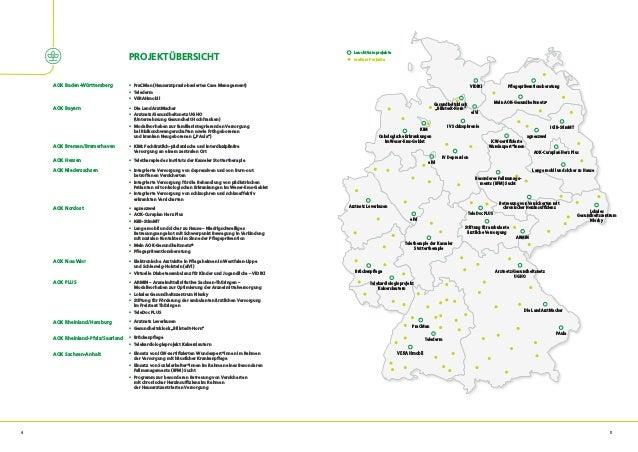 """""""Stadt. Land. Gesund."""" - Übersicht der AOK-Projekte und -Initiativen zur Gesundheitsversorgung in ländlichen Regionen Slide 3"""