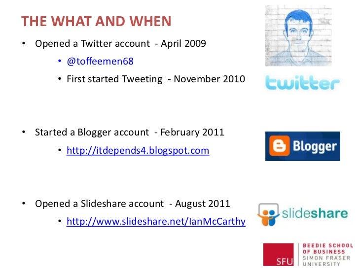 Social Media in Research Slide 3