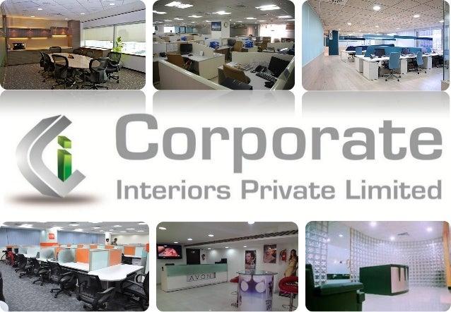 Corporate Interiors Private Limited New Delhi Interior Design And T