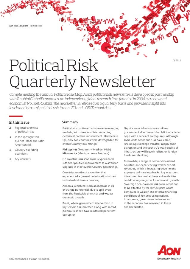 what types of political risk would a company entering russia face identify and describe three Political risk is among the most important risk factors facing international investors in many emerging and frontier markets, the political situation is significantly less stable than the united states with the potential for widespread fraud and corruption.