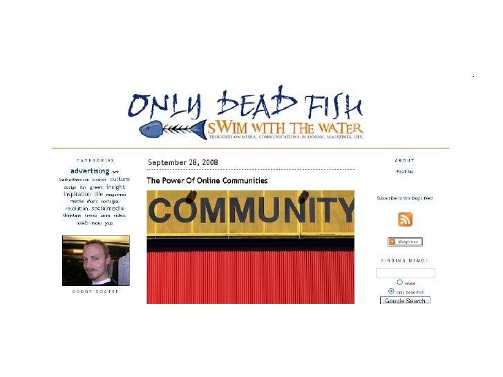 Harnessing The Power of Online Communities Slide 2